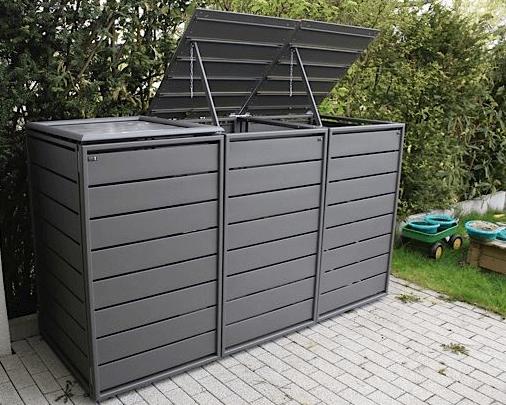 Aluminium container ombouw 3 containers